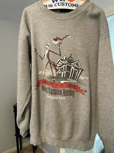 Disneyland Haunted mansion holiday 2001 Nightmare Before Christmas Sweatshirt