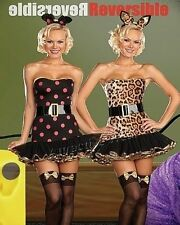 When the Cats Away Sexy Reversible Cat & Mouse Halloween Costume SIZE medium