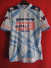 Maillot cycliste Bianchi Ouverture intégrale Giordana Barale Bordighera - XL