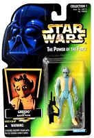 Kenner Star Wars POTF Power of the Force GREEDO Action Figure NIB d671