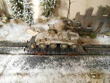 HO Roco Minitanks 9th Panzer Armored Car Railway Car A949 Hand Painted