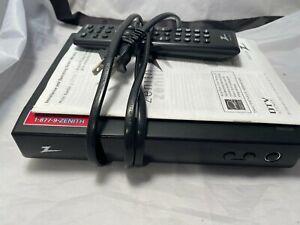 Zenith DTT901 Digital TV Tuner Converter Box With Remote Instruction Manual