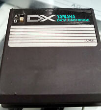Yamaha DX7 Synthesizer Data Cartridge rom master group with keyboard & plucked