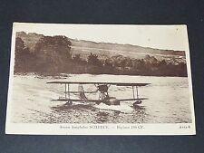 CPA 1920-1930 AVIATION AVION HYDRAVION SCHRECK BIPLACE 180 CV