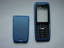 NOKIA 3 PARTS COVER CASE FOR E51 BLUE  FRONT & BACK & KEYPAD