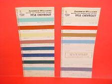 1958 CHEVROLET CORVETTE BELAIR IMPALA CONVERTIBLE DELRAY BISCAYNE PAINT CHIPS SW