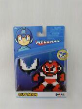 Megaman Cut Man 8 Bit Figure JAKKS Pacific 30th Anniversary Capcom New J7