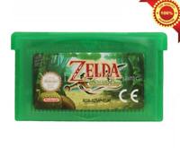 Nintendo GBA Video Game Cartridge Card The Legend Of Zelda The Minish Cap