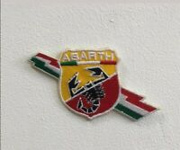 Abarth racing cars italian art badge Embroidered Iron or Sew on Patch