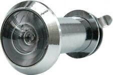 Sicherheit Tür Spion Türspion Kuckloch Linse 16 mm 200° Silber 35-50 mm