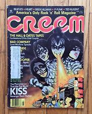KISS Creem Magazine August 1977 Tokyo Cover Hall & Oates Bad Company Love Gun
