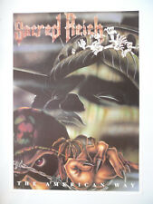 SACRED REICH THE AMERICAN WAY poster dimension environ 61 x 84 cm