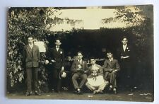 CPA Photographique . ALENÇON . 61 - Groupe de Jeunes Gens.