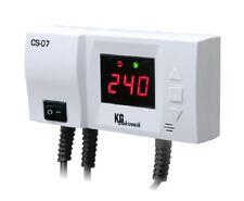 Steuergerät CS-07 Steuerung für Umwälzpumpe mit Temperaturanzeige m. Antifrost