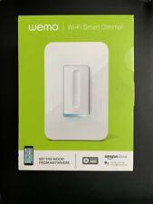 Wemo Wi-Fi Smart Dimmer Light Switch (Nest alexa Google Assistant) New