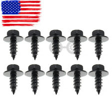 10PCS Bumper Engine Cover Rivet Bolt Screw Fender Fastener Steel For BMW