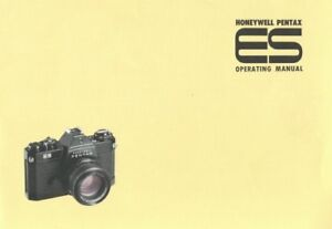 Honeywell Pentax ES Instruction Manual Original