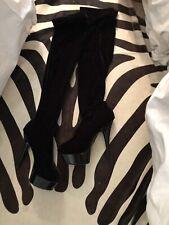 251f276ae48 Velvet Thigh-High Boots for Women for sale