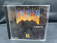 THE ULTIMATE DOOM COMPLETE PC CD-ROM GAME