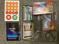 Opened Mega Charizard X Battle Arena Deck No EX Cards