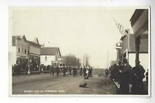Market Day At Norcross, Minnesota RPPC