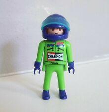 PLAYMOBIL (S348) RACING - Pilote de Formule 1 Vert avec Casque Bleu 3603