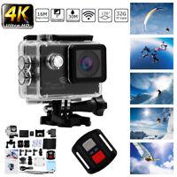 4K 2'' Ultra HD 1080P Sport Kamera WiFi Cam-Action-Kamera DV Videorecorder 16MP.