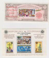 Philippines  mnh souvenir sheets