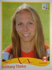 Panini 59 Brittany Timko Canada FIFA WM 2011 Germany