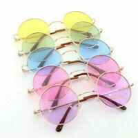 Round Metal Frame Sunglasses Unisex Vintage Retro Glasses Men Women Eyewear Hot