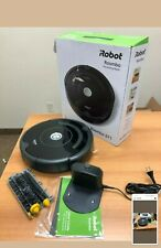 iRobot Roomba 671- Wi-Fi Robot Vacuum Cleaner, works with Alexa. Gray color.