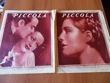PICCOLA 23/1932 Norma Shearer, Joan Crawford e Nils Asther, Gloria Swanson