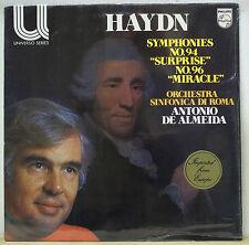 Antonio de Almeida HAYDN Symphonies No.94 & 96 - Philips 6580 124 SEALED