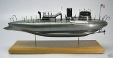 USS Keokuk US Navy Ironclad Steam Warship Submarine Wood Model Small New