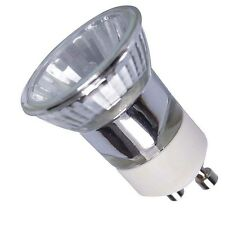 3 MINI GU10 35mm 35w HALOGEN DIMMABLE SPOT LIGHT BULBS LAMPS SMALL GLOBES 2 PIN