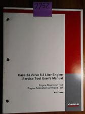 Case 24 Valve 8.3 L Engine Service Diagnotic Calibration Download Tool Manual 00