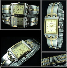 VERY NICE Prestige Cavadini Unisex Watch with Special Design in Bi-Colour