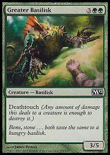Greater Basilisk X4 EX/NM M12 MTG Magic Cards Green Common