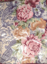 Floral bed sheet Double