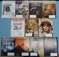 SMITHSONIAN ~ 2015 FULL YEAR ~ 11 (of 11) issues ~ V/G++