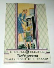 1929 GE General Electric Monitor Top Refrigerators Makes It Safe To Be Hungry