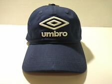 New Umbro Sport Black & Gray Relaxed Fit Adjustable SnapBack Hat
