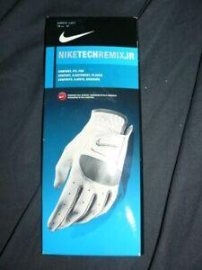 Nike Tech Remix JR Golf Glove Junior Left Hand M Medium NEW glove GG0404-101