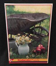 Kodacolor Puzzles 550 Pc Wheelbarrow & Daisies Unopened