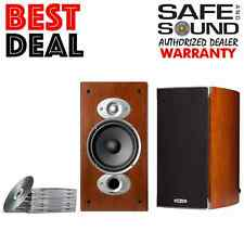 *OPEN BOX** POLK AUDIO RTIA3 BOOKSHELF SPEAKERS | CHERRY RTI-A3 PAIR