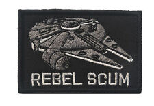 Star Wars REBEL SCUM PATCH ARMY MORALE TACTICAL MORALE BADGE PATCH