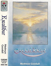 MEDWYN GOODALL EXCALIBUR CASSETTE ALBUM NEW WORLD ELECTRONIC NEW AGE AMBIENT