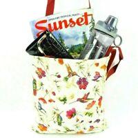 Hummingbirds Tapestry Shopping Bag Tote Bag Foldable Reusable Grocery Bag