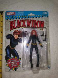 Marvel Legends  Black Widow 6-Inch Action Figure vintage..new in package