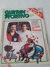 Guerin Sportivo_1977_n.6_PRUZZO_GRAZIANI_JEFFERSON AIRPLANE_PANATTA_TORO vs JUVE